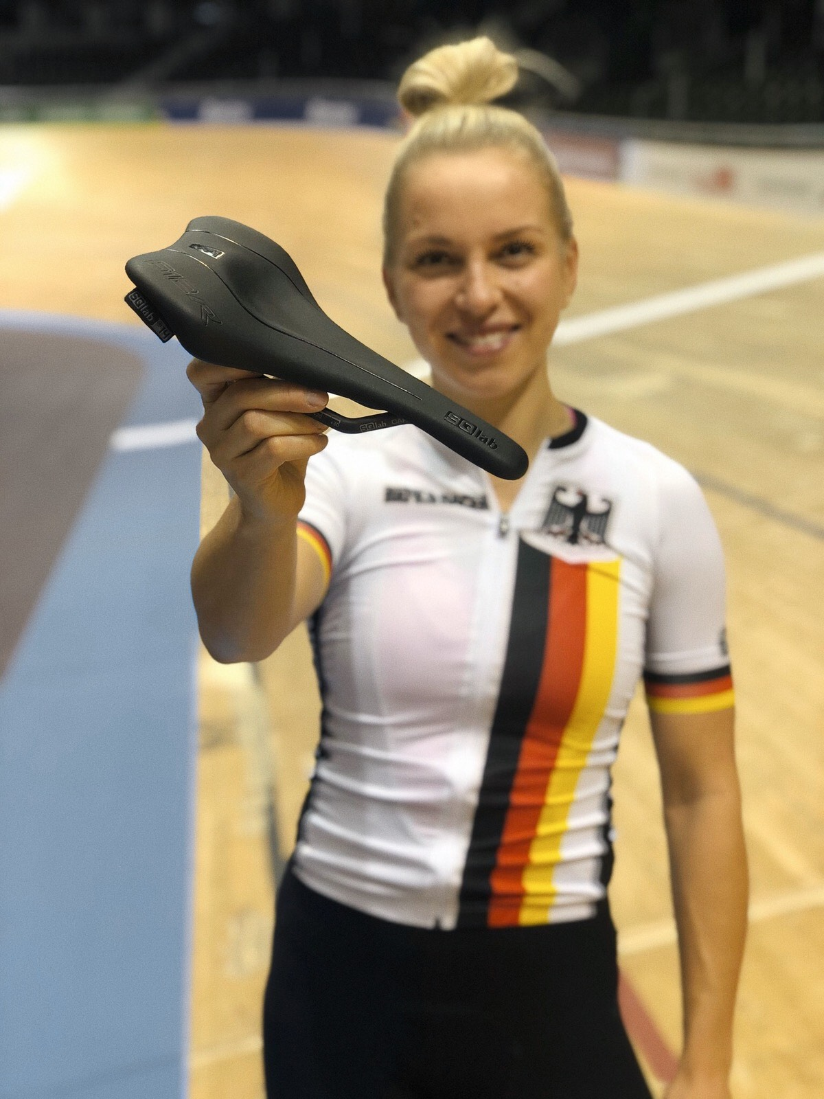 Emma Hinze  3x Elite World Champion