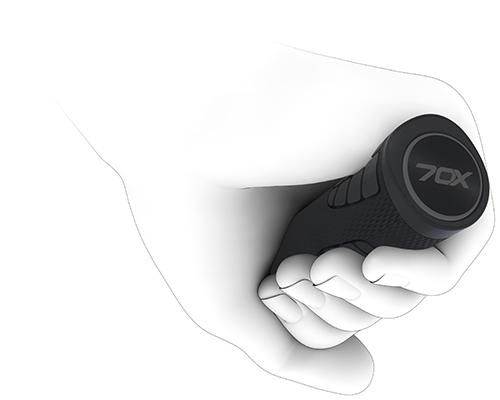 Griff und Hand