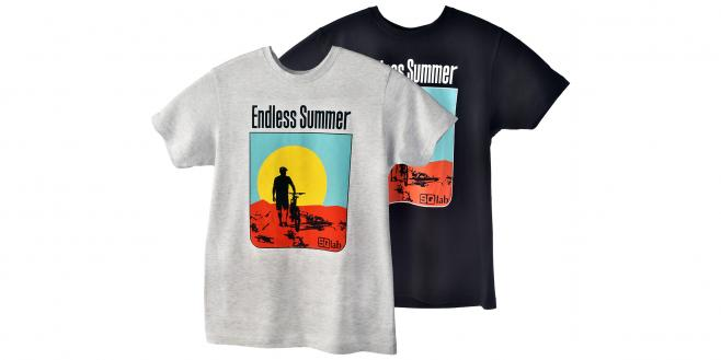 T-Shirt Endless Summer S | black