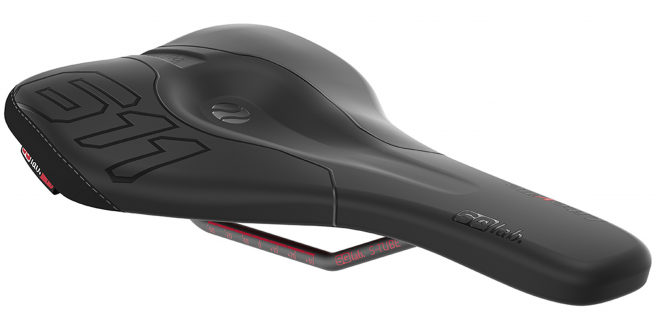 Saddle 611 ERGOWAVE® Liteville 12cm
